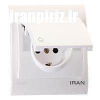 پریز برق ارت درب دار فضل ایران 2009