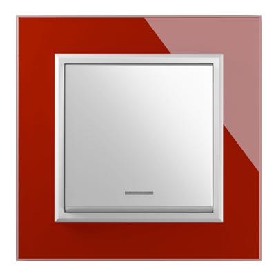 کلید 1 پل فضل الکتریک مدل برلیان قرمز