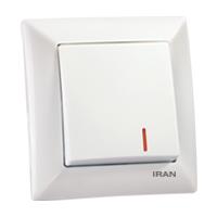 کلید یک پل فضل الکتریک مدل ایران الیزه