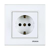 پریز برق ارتدار فضل الکتریک مدل ایران برلیان
