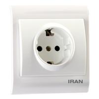 پریز برق ارت دار فضل الکتریک مدل ایران 2009