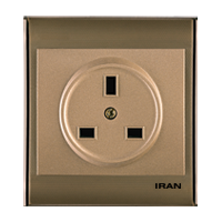 پریز برق BS-1363 فضل الکتریک مدل ایران 2008