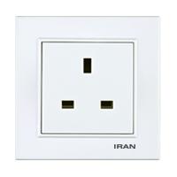 پریز برق BS-1363 فضل الکتریک مدل ایران برلیان