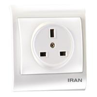 پریز برق BS-1363 فضل الکتریک مدل ایران 2009