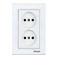پریز برق عمودی فضل الکتریک مدل ایران برلیان
