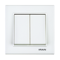 کلید دو پل فضل الکتریک مدل ایران برلیان