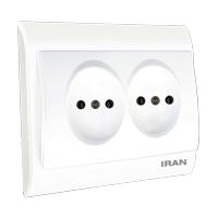 پریز برق افقی فضل الکتریک مدل ایران 2009