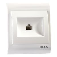 سوکت تلفن تک فضل الکتریک مدل ایران 2009