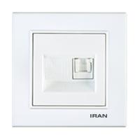 سوکت CAT6 فضل الکتریک مدل ایران برلیان
