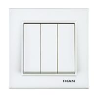 کلید سه پل فضل الکتریک مدل ایران برلیان
