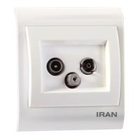 فیش آنتن SAT-TV-R فضل الکتریک مدل ایران 2009