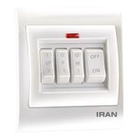 کلید کولر چهار پل فضل الکتریک مدل ایران 2009