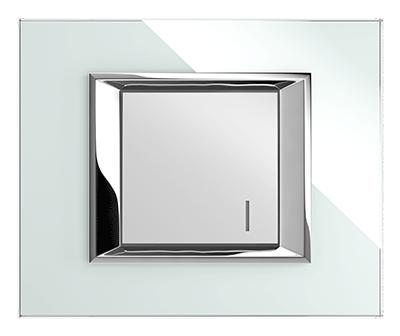 کلید یک پل فضل الکتریک مدل دیاموند کریستال سفید