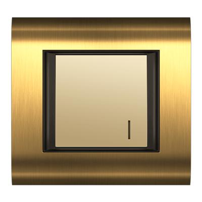 کلید یک پل فضل الکتریک مدل سیستما متال طلایی