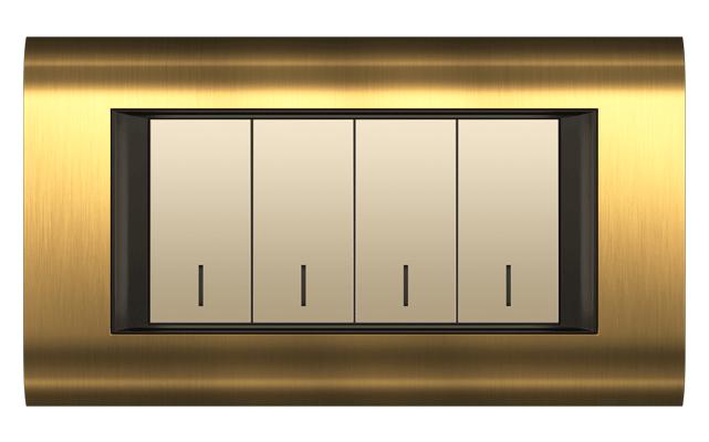 قاب M4 طلایی مدل سیستما متال فضل الکتریک