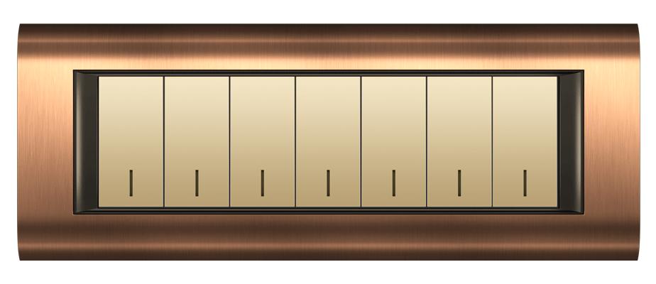 قاب M7 مسی مدل سیستما متال فضل الکتریک