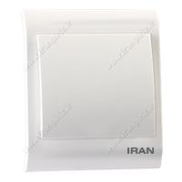 کلید یک پل فضل الکتریک مدل ایران 2009 - کلید و پریز فضل الکتریک